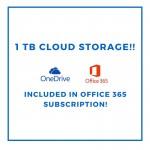 microsoft onedrive 1 TB cloud storage