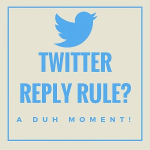 twitter reply rule